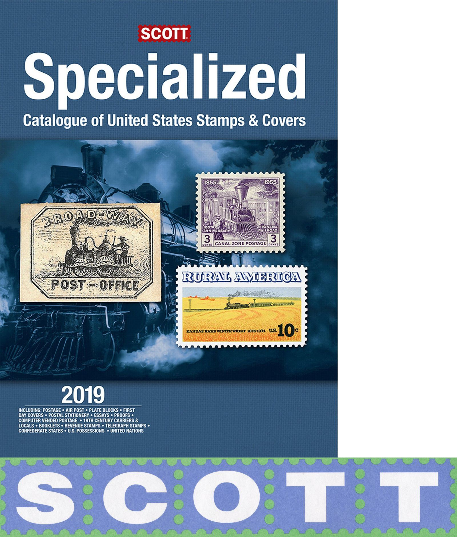 Publications 701 Scott Stamp Catalog 2019 Specialized BUY IT NOW ONLY 8022 On EBay