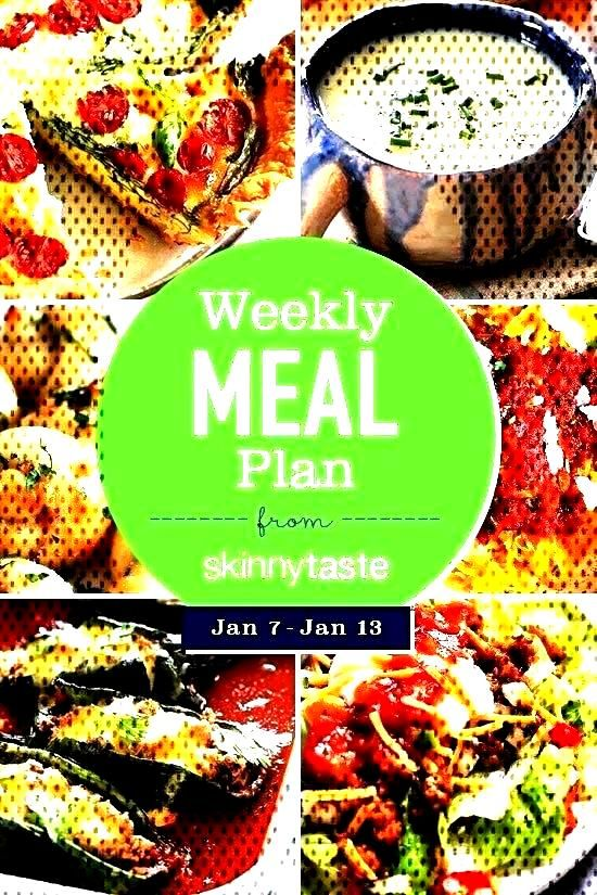 Skinnytaste Meal Plan (January 7-Jan...