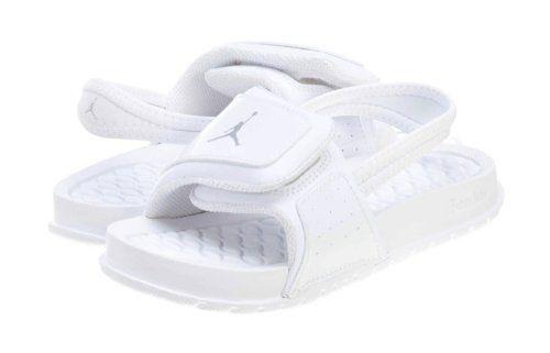 cd7bf048f Nike Air Jordan White Toddler Sandals Slides New 10C