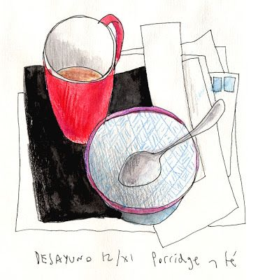 lobstersquad: The art of breakfast: Thermomix porridge