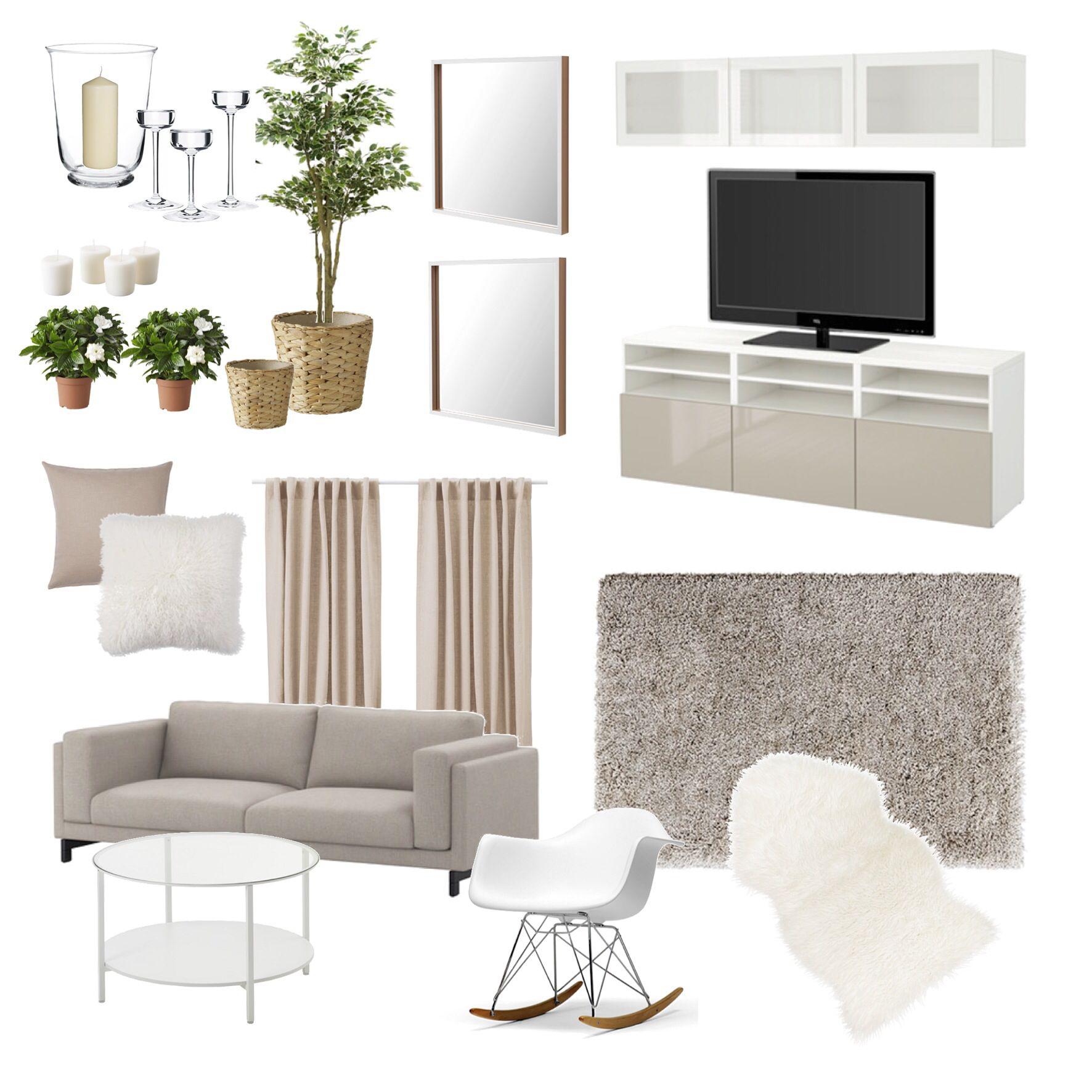 Ikea home. Neutral color scheme, simple elegant beautiful ...