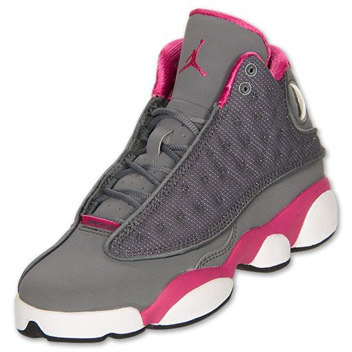 Girls  Grade School Air Jordan Retro 13 Basketball Shoes ... 4c14940fc