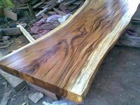 Wood Slab Countertops Monkey Pod Wood Slab Table Acacia