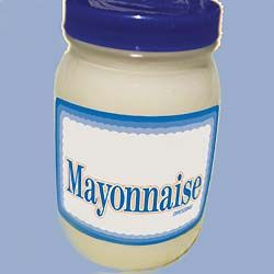 Image result for mayo jar mess