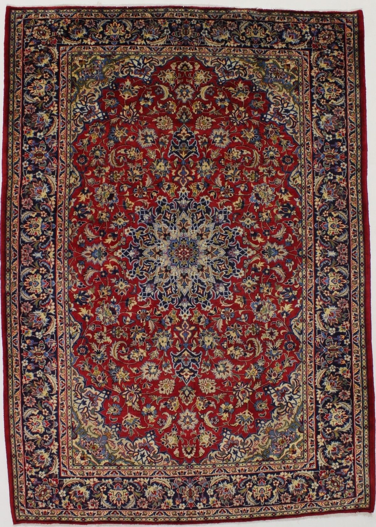 Antique Persian Rugs 8x11 Traditional Vintage Najafabad Persian