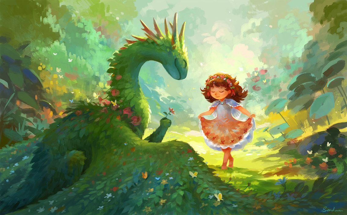 Смешные картинки драконов девочек, вкусного чая
