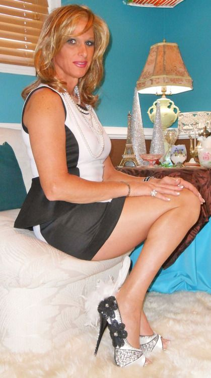 """maturetrannywives: """" She's 100% Wife Material @maturetrannywives """" My cock  or yours tonight?"""