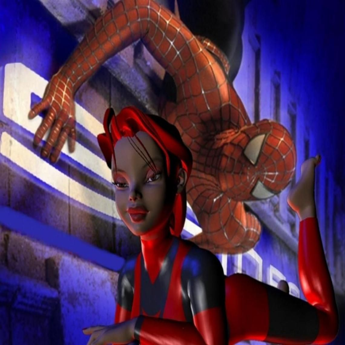 thinking of spiderman