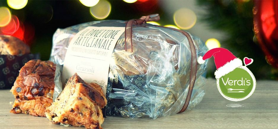 Al regalo per la nonna ci hai già pensato? Quest'anno per Natale regalale un gioiello artigianale della tradizione milanese, il panettone con pere e cioccolato a lievitazione naturale del Maestro fornaio Grazioli! Have you already thought about the gift for your grandma? This year for Christmas give her a handmade jewel of the Milanese tradition, artisan panettone with pears and chocolate of baker's Master Grazioli! #food #verdis #sanoappetito #panettone #milano #regali #gift #artisan…