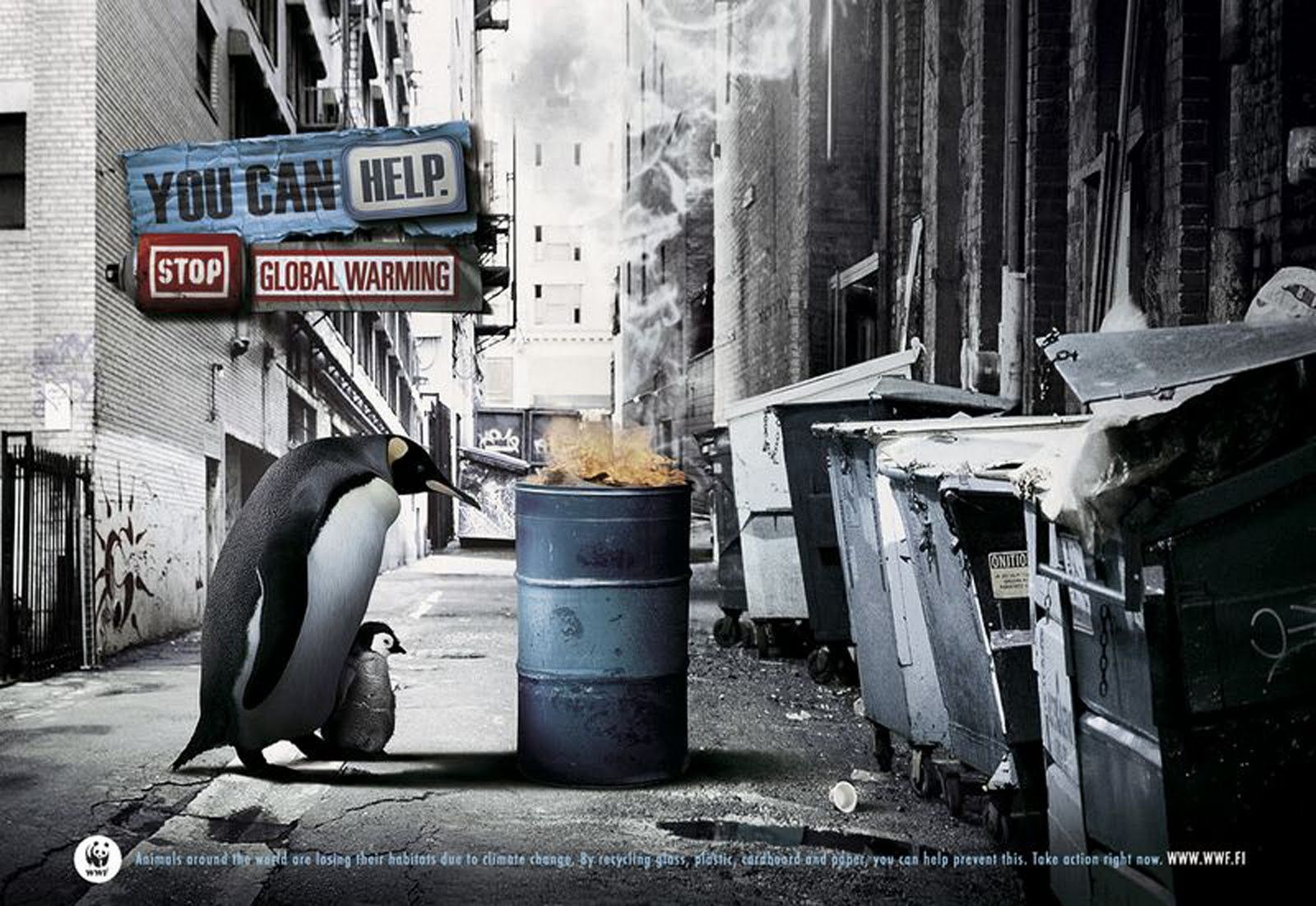 Critically Endangered Species wwf posters on global