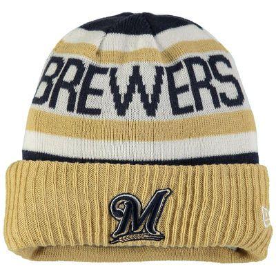 dfce1d5950095 Milwaukee Brewers New Era Toddler Biggest Fan 2.0 Cuffed Knit Hat - Navy