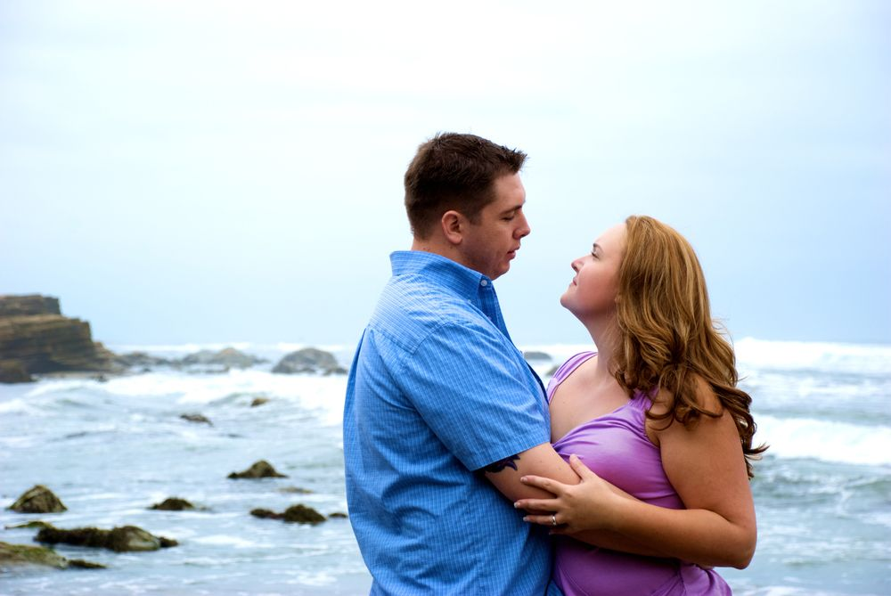 San Diego Beach Engagement— Rebecca Fitzpatrick Photography