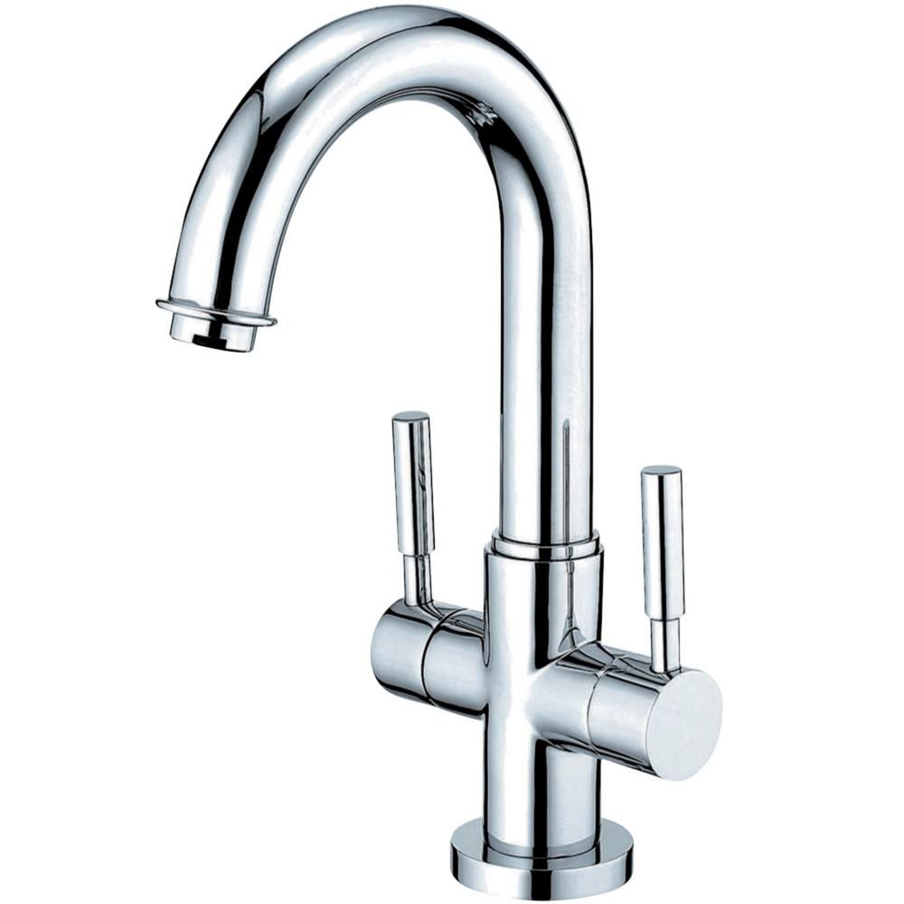 Kingston Brass Concord Single Hole 2 Handle Bathroom Faucet In