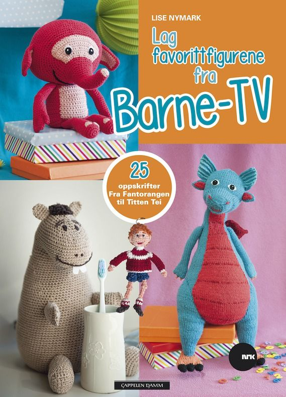 Photo of Here, knitting and crochet patterns are presented for approx. 20 famous figures from Barne …