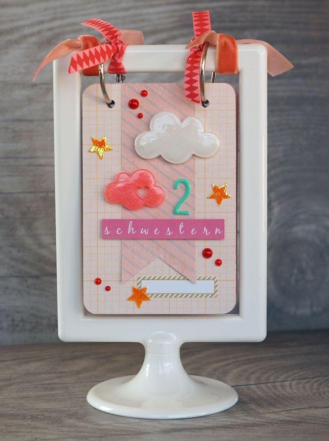 Ein Mini im Rahmen … [Freckled Fawn – Embellishment Kit January ...