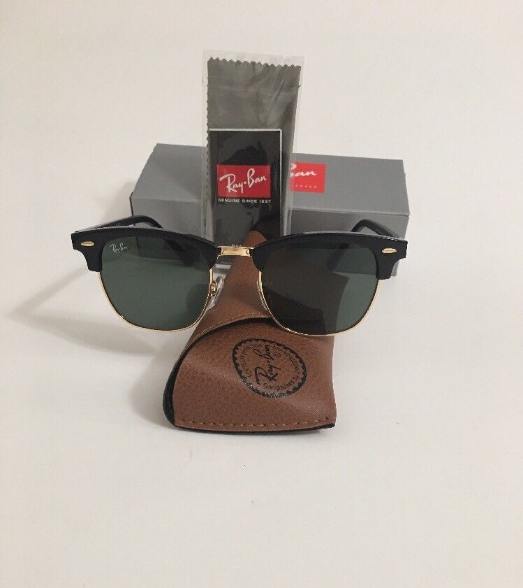 Black Ban Rb3016 W0365 51mm Clubmaster Gradient Sunglasses Ray Used wuOkZiTPX