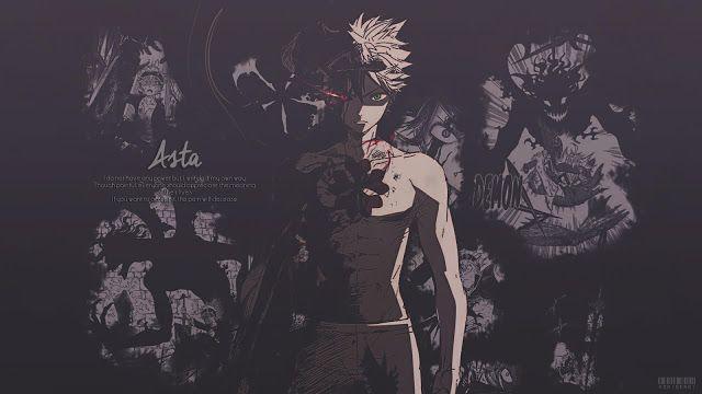 Pc Asta Black Clover Wallpaper Gambar Dan Art