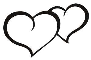 48+ Free heart clipart black and white info
