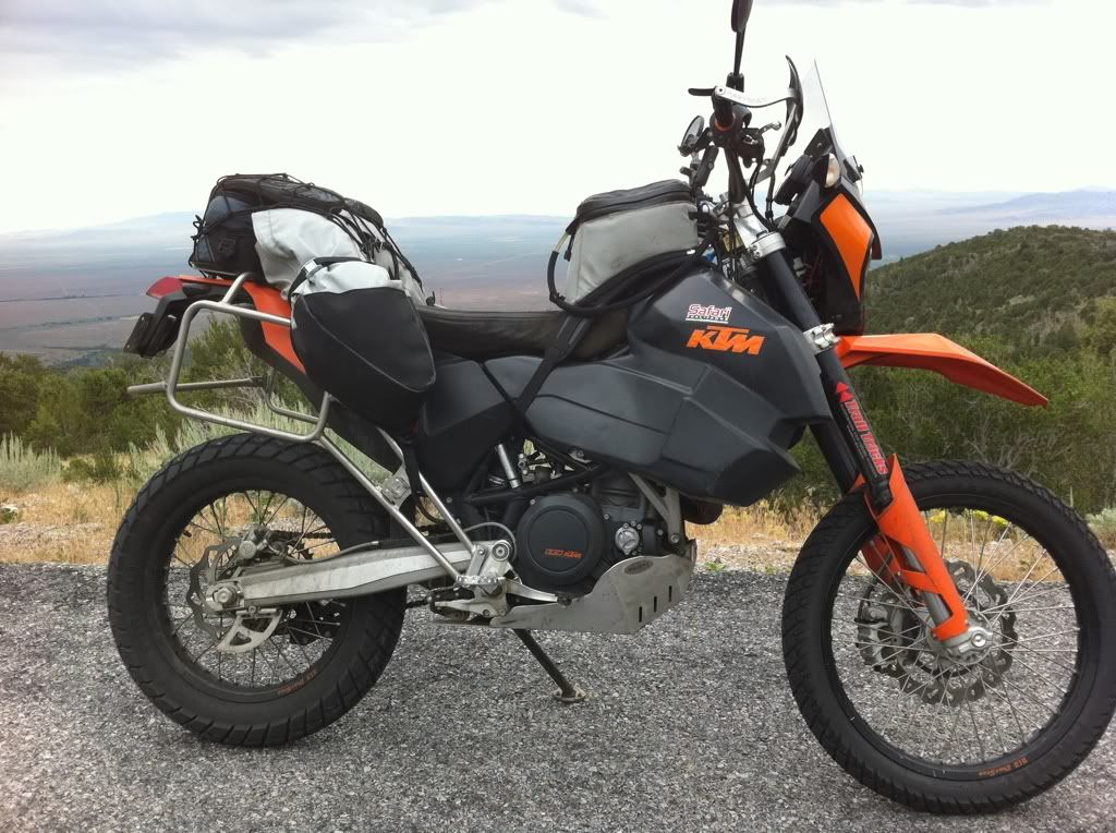 Opinion On The KTM 690 As An Adventure Bike