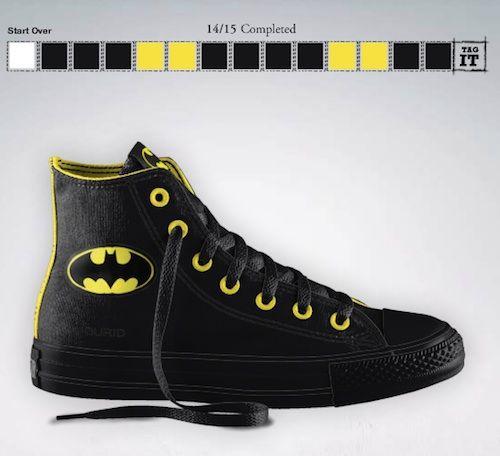 20fe7a2cb4b85e DC x Converse collab! You can customize your own Batman