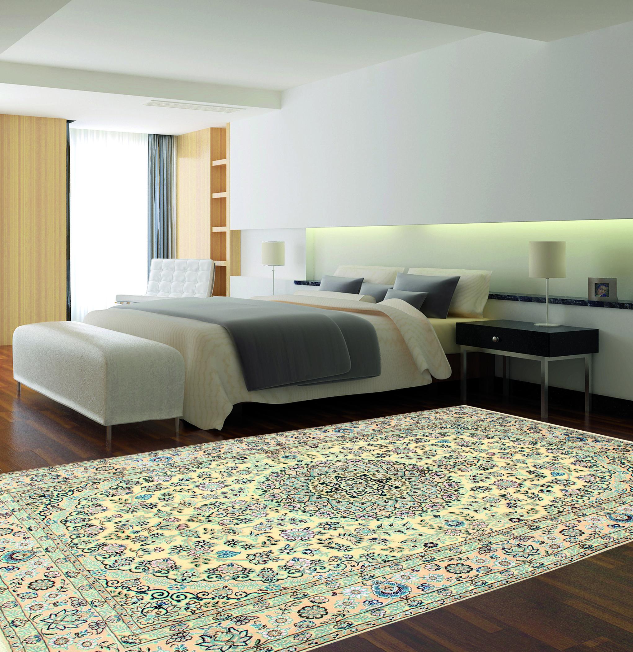 Il tappeto Nain è perfetto per la camera da letto