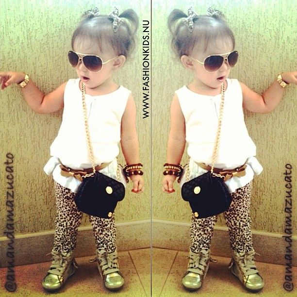 To cute. This looks like my niece and she has the attitude to rock this outfit.