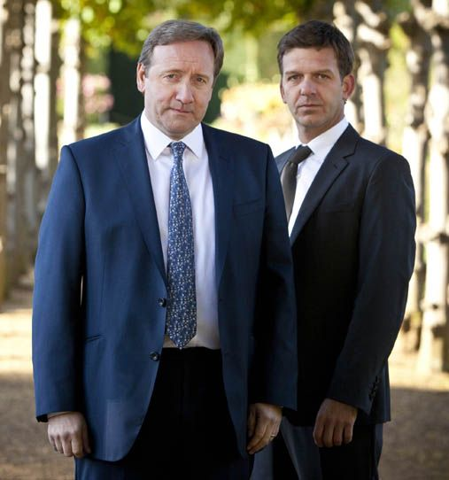 Midsomer Murders... With the new John Barnaby, and of course, Jones