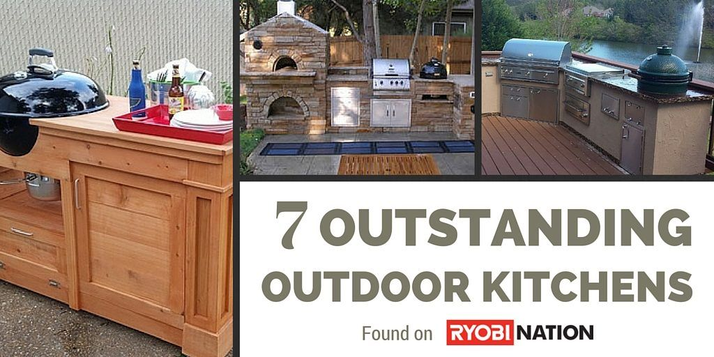 7 Outstanding Outdoor Kitchens Diy Plans Outdoor Kitchen Furniture Project Plans