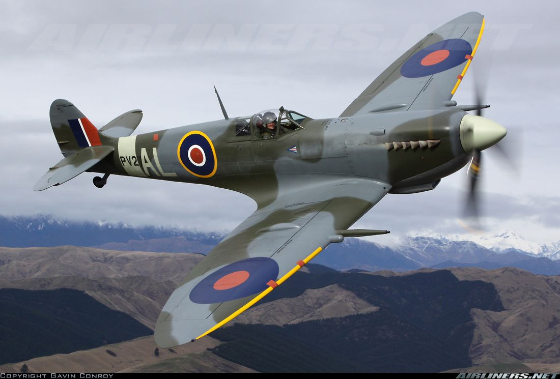 Supermarine 361 Spitfire Mk9 aircraft picture | WW2 Flight ...