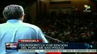 #Chávez llama a los progresistas a iniciar una  ofensiva internacional
