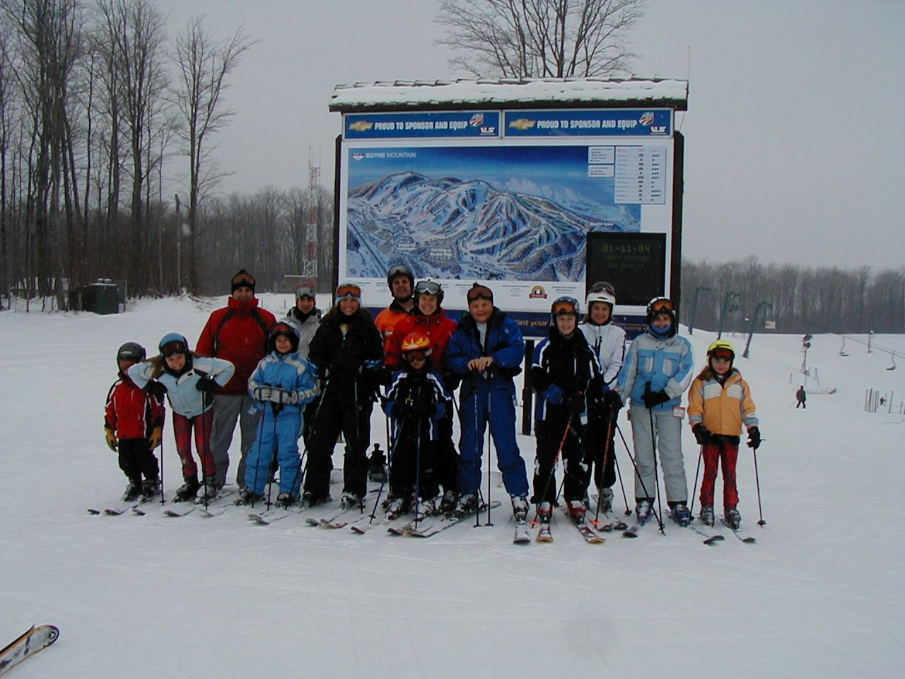 Nichols Family Ski Weekend at Boyne Mountain - Jan 2004