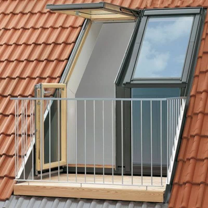 Elegant Balcony Roof Window