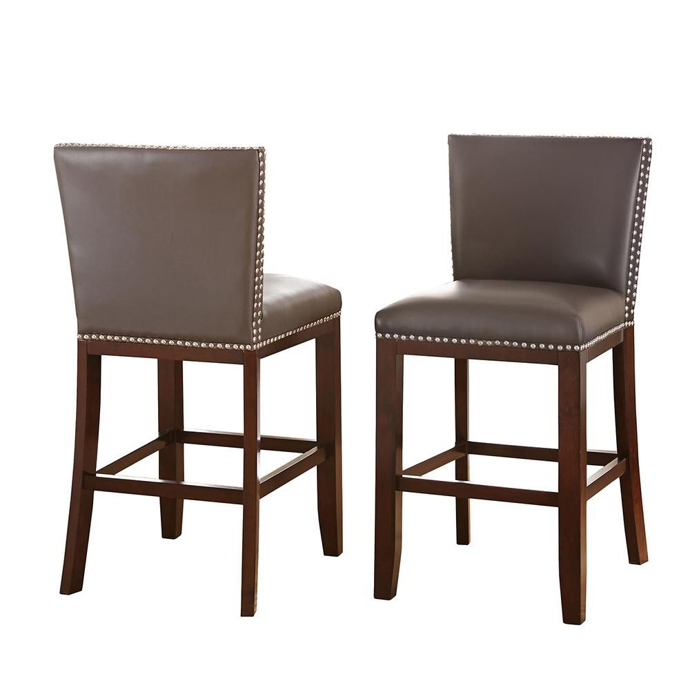 Steve Silver Company Tiffany Counter Height Gray Chairs