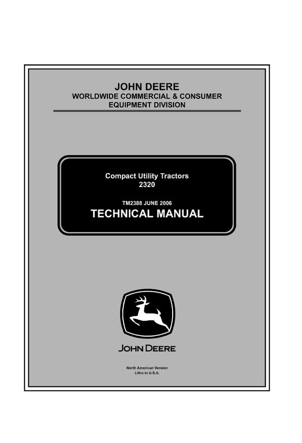 Download john deere 2320 compact utility tractor service manual download john deere 2320 compact utility tractor service manual tm2388 fandeluxe Images