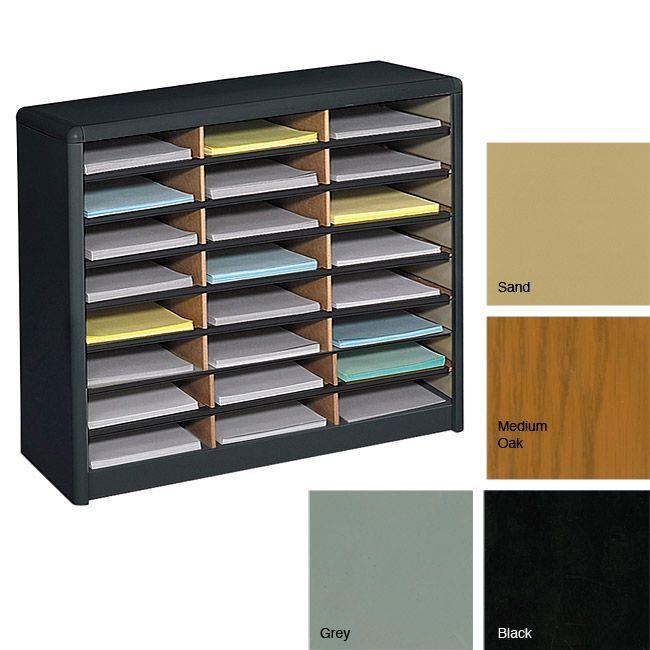 Safco 24 Compartment Literature Organizer Patti Pinterest And Office Furniture S