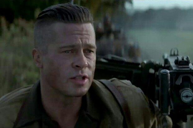 Brad Pitt Fury Frisur Name Yskgjt Com