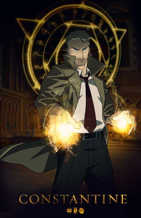 4d0e226d5 Constantine Animated Series Poster | John Constantine | Constantine ...