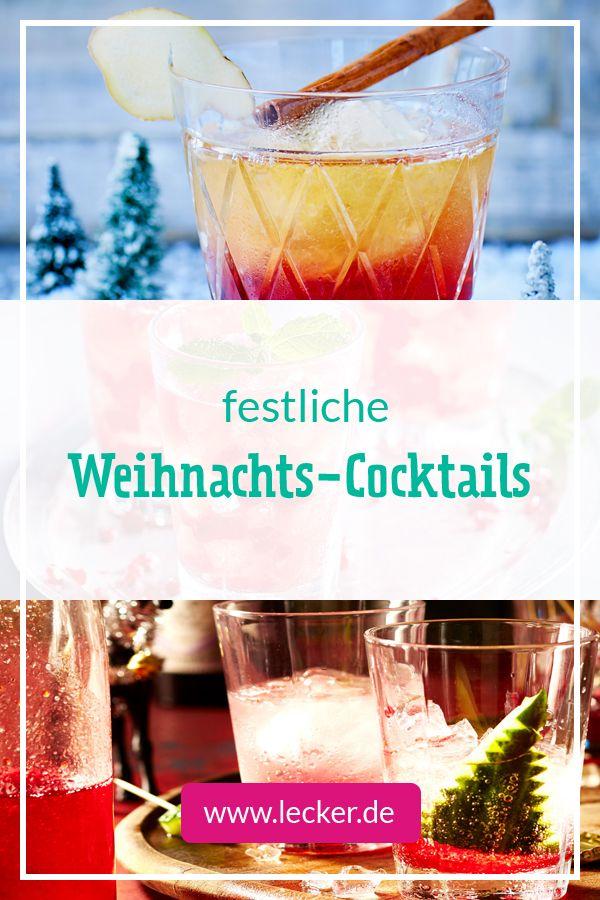 Weihnachtscocktails