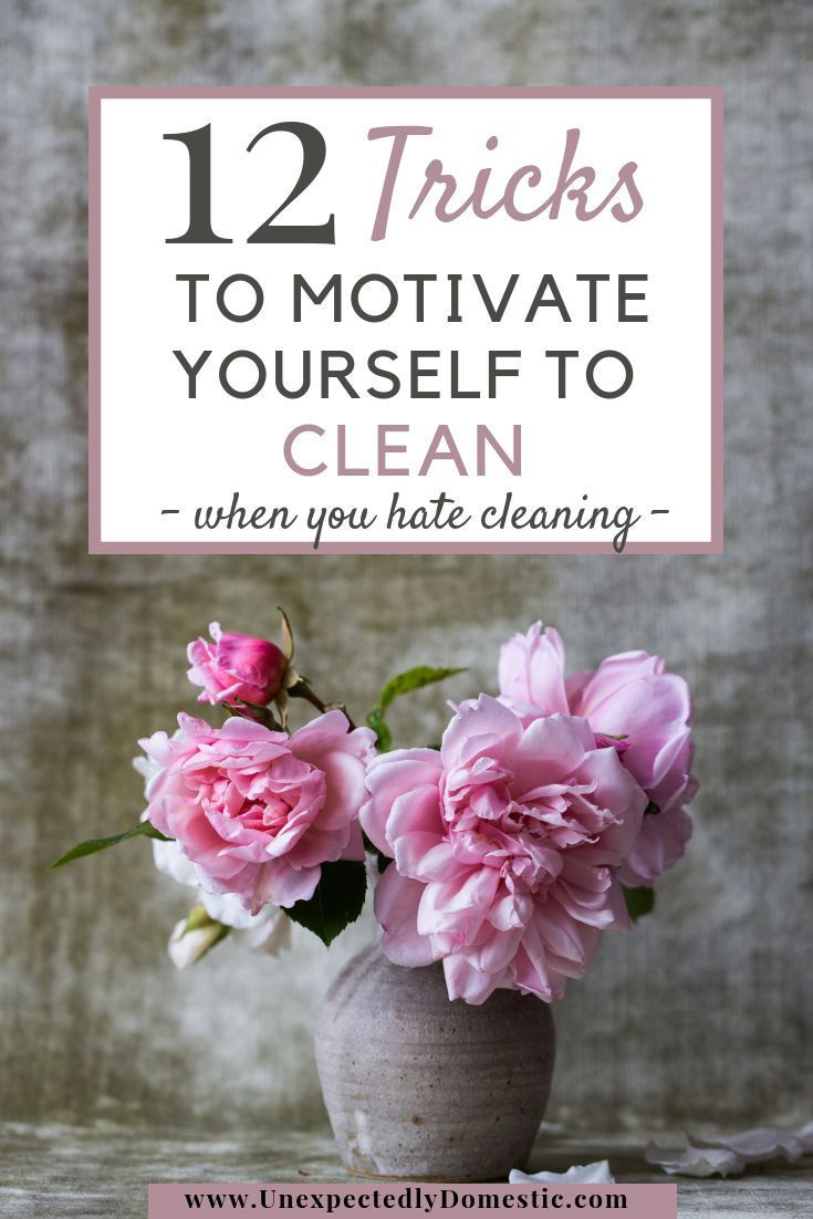 how to get motivated to clean when depressed