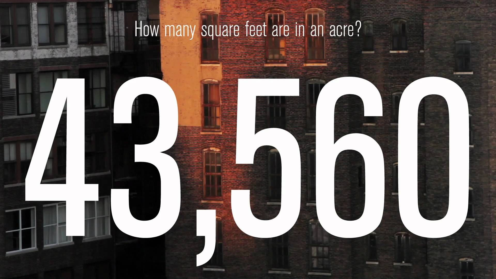 How many square feet is an acre google search