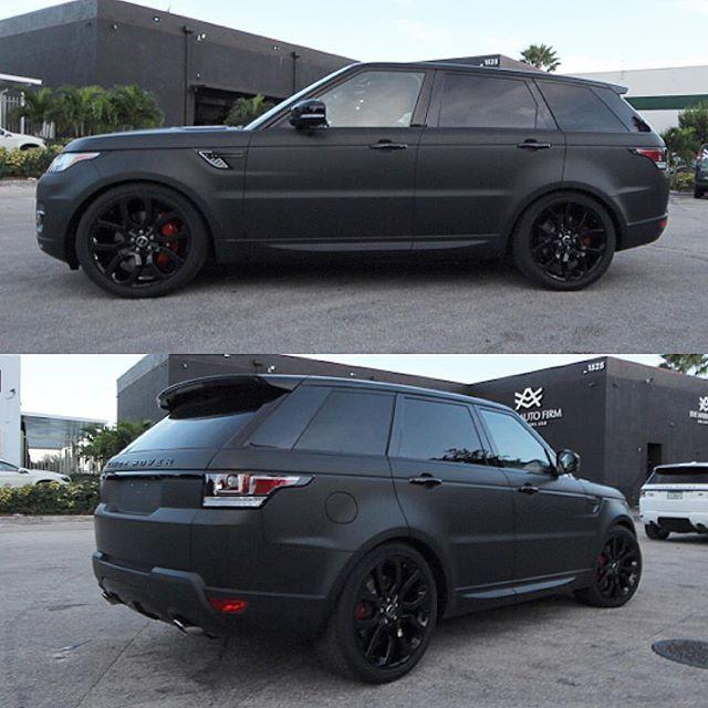 Range Rover Velar Black Rangerover Cars Car Black: Range Rover Sport 2016 Matt Black