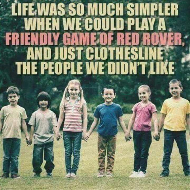Image result for playing red rover funny