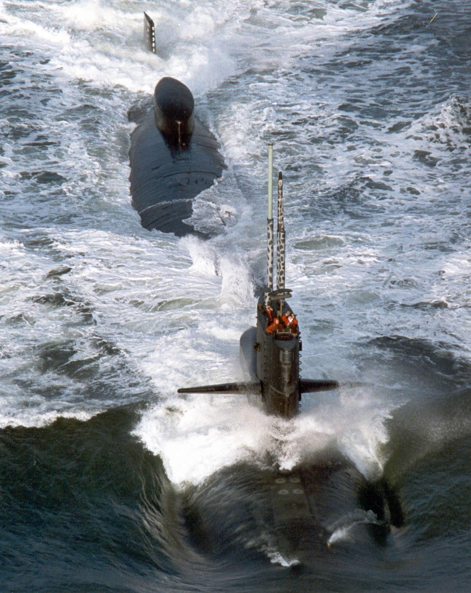 u.s.s. richard b. russell (ssn-687) is the last of 37