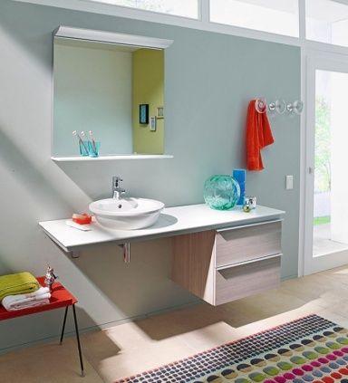 Wohnen mit Farben - Wandfarben fürs Badezimmer Room - farben fürs badezimmer