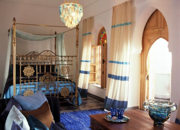 40 Moroccan Themed Bedroom Decorating Ideas | Orientalisch und Wohnen
