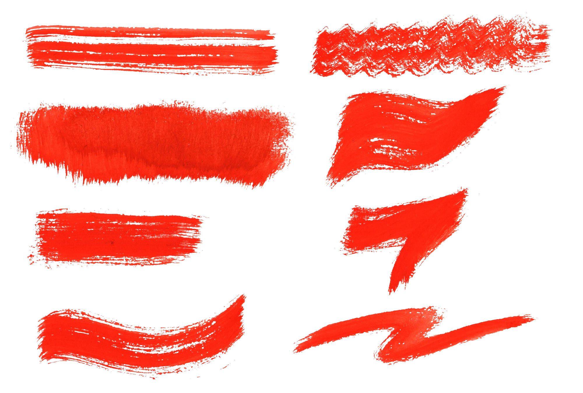 8 Dry Red Watercolor Brush Stroke Png Transparent Onlygfx Com Brush Stroke Png Watercolor Brushes Brush Strokes