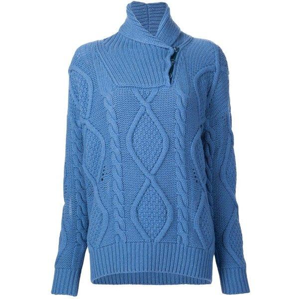 7e1416a8dbd5b7 Stella McCartney Fishermans Wrap Neck Sweater ( 1