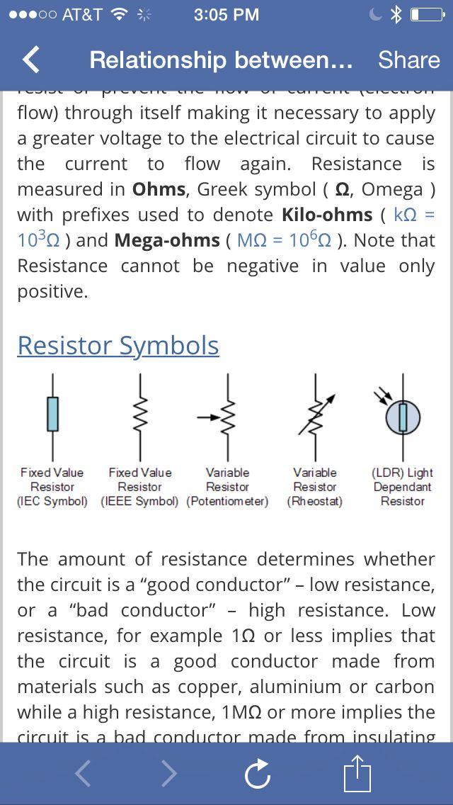 Theory and formula   Electronics theory   Pinterest