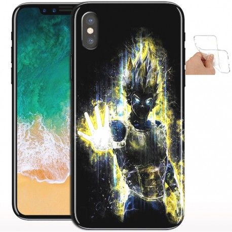 coque vegeta iphone x