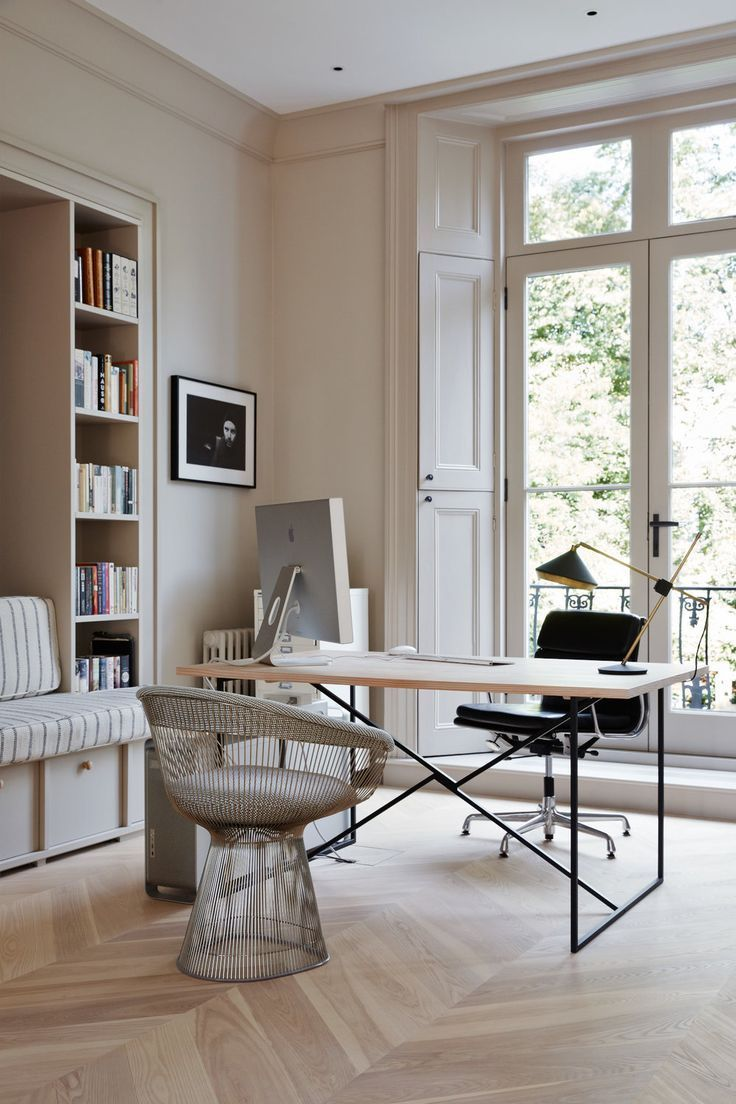 Chic Office Space Guest Room Office Home Office Design